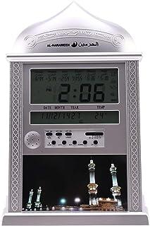 TOOGOO 1 Pièce Musulmans Priant Islamique Azan Horloge de Table Azan RéVeils avec Stylo 1500 Villes Athan Adhan Salah Horl...