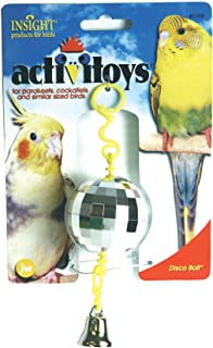 JW Pet Hanging Disco Ball with Bell Bird Toy