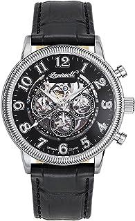 インガーソル 腕時計 自動巻 カレンダー シースルー IN7218BK [並行輸入品]