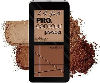 LA Girl Tan Pro Contour Powder, Multicolor, 5.6g