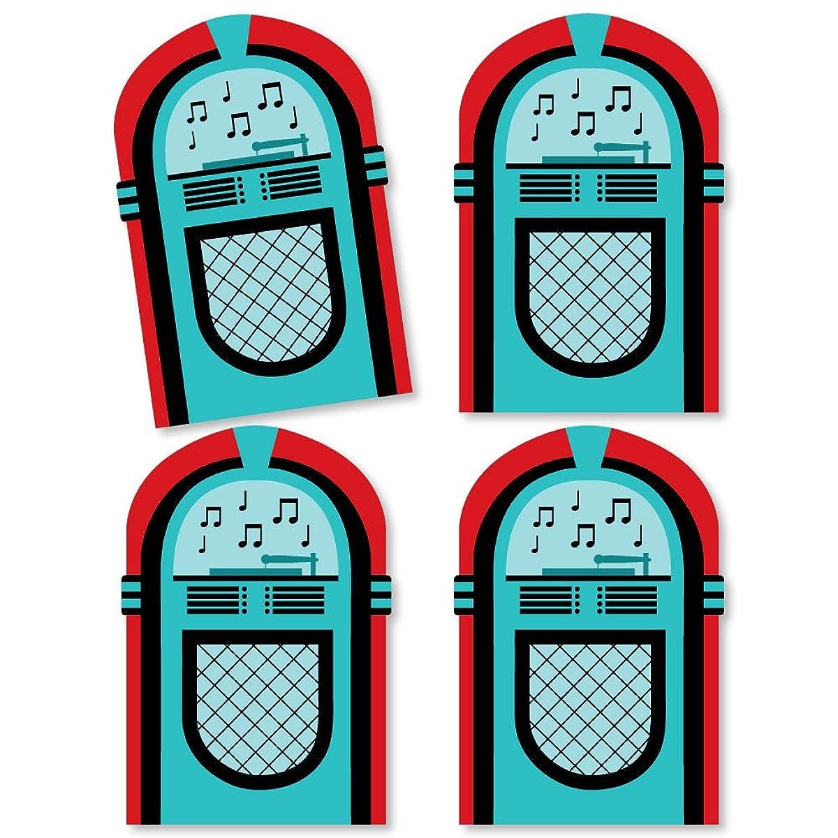 50's Sock Hop - Jukebox Decorations DIY 1950s Rock N Roll Party Essentials - Set of 20