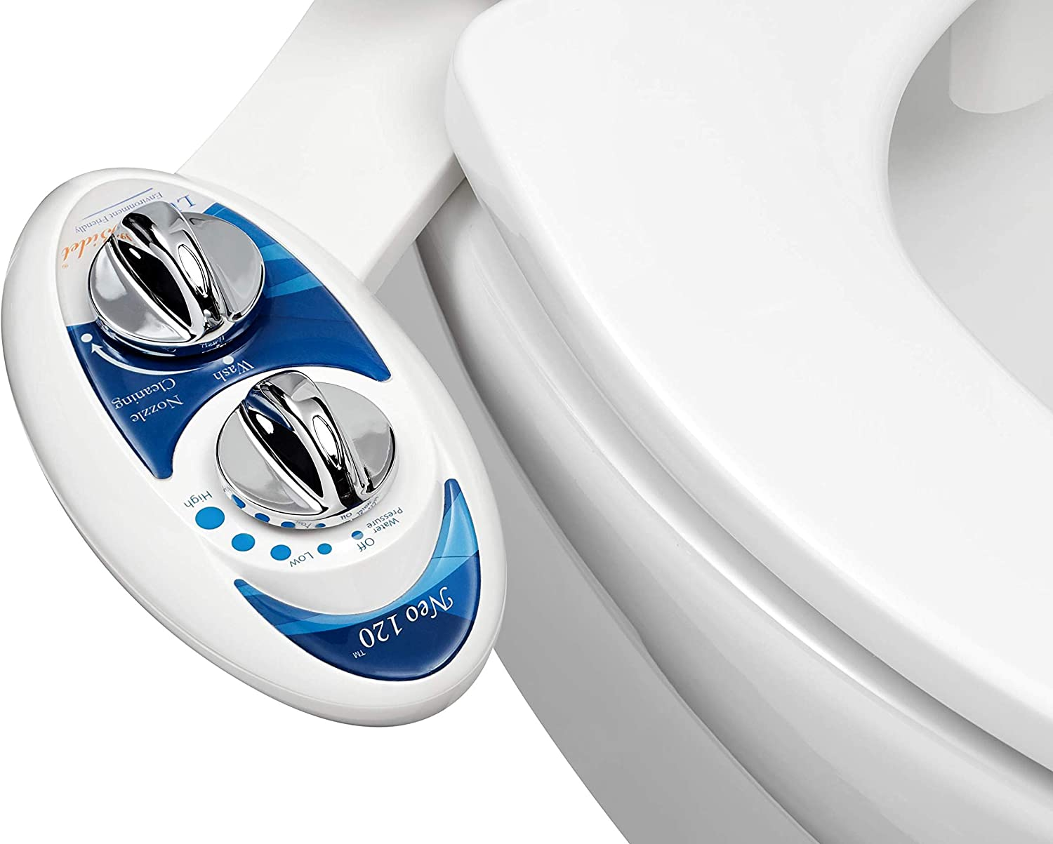 LUXE Bidet Neo 120 - Self Fresh Nozzle Cleaning Water Non-Elec Los Angeles Mall Albuquerque Mall
