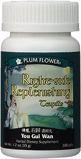 Right Side Replenishing Teapills (You Gui Wan), 200 ct, Plum Flower