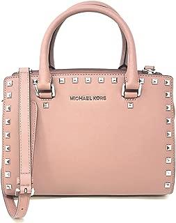 Best selma medium top zip satchel pale pink Reviews