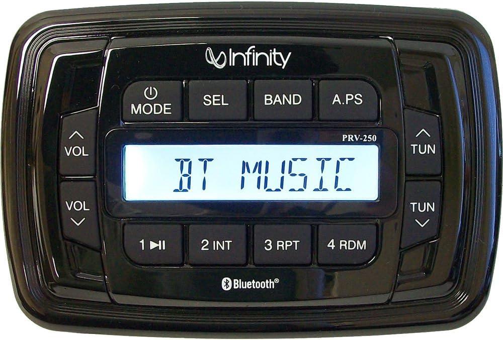 オンライン限定商品 Infinity 品質検査済 PRV250 AM FM Receiver Stereo BT