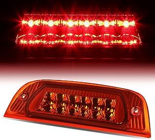 For Jeep Liberty KJ Rear High Mount LED 3rd Tail Brake Light (Red Lens)
