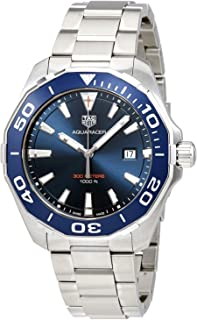 TAG Heuer - Aquaracer Reloj de hombre cuarzo 43mm correa de acero WAY101C.BA0746