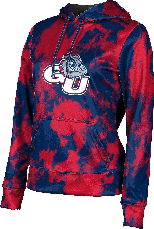 ProSphere Gonzaga University Girls' Pullover Hoodie, School Spirit Sweatshirt (Grunge)