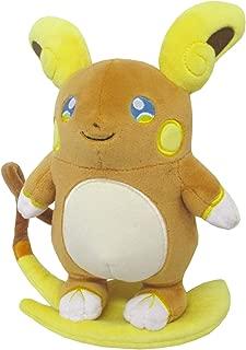 Sanei PP60 Alolan Raichu Pokemon All Star Collection Stuffed Plush, 8