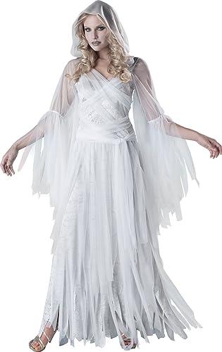 En Costumes de voitureact-re 213024 Haunting Beauty Costume - blanc-gris - Medium