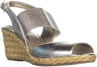 Womens Himeka Satin Espadrille Wedge Sandals