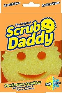 Scrub Daddy Flex Texture Cleaning Sponge, Original Yellow