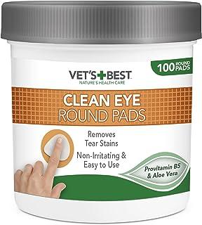 Vet's Best Clean Eye Round Pads