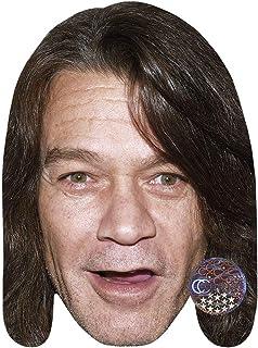 Celebrity Cutouts Eddie Van Halen (Young) Big Head. Larger Than Life mask.