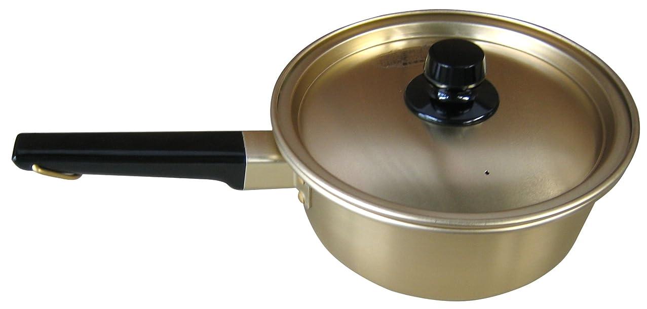 朝食を食べる極めて重要な調和オオイ金属 本蓚酸 片手鍋 18cm