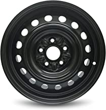 Road Ready Car Wheel For 2006-2012 Toyota Rav4 16 Inch 5 Lug Black Steel Rim Fits R16 Tire - Exact OEM Replacement - Full-Size Spare