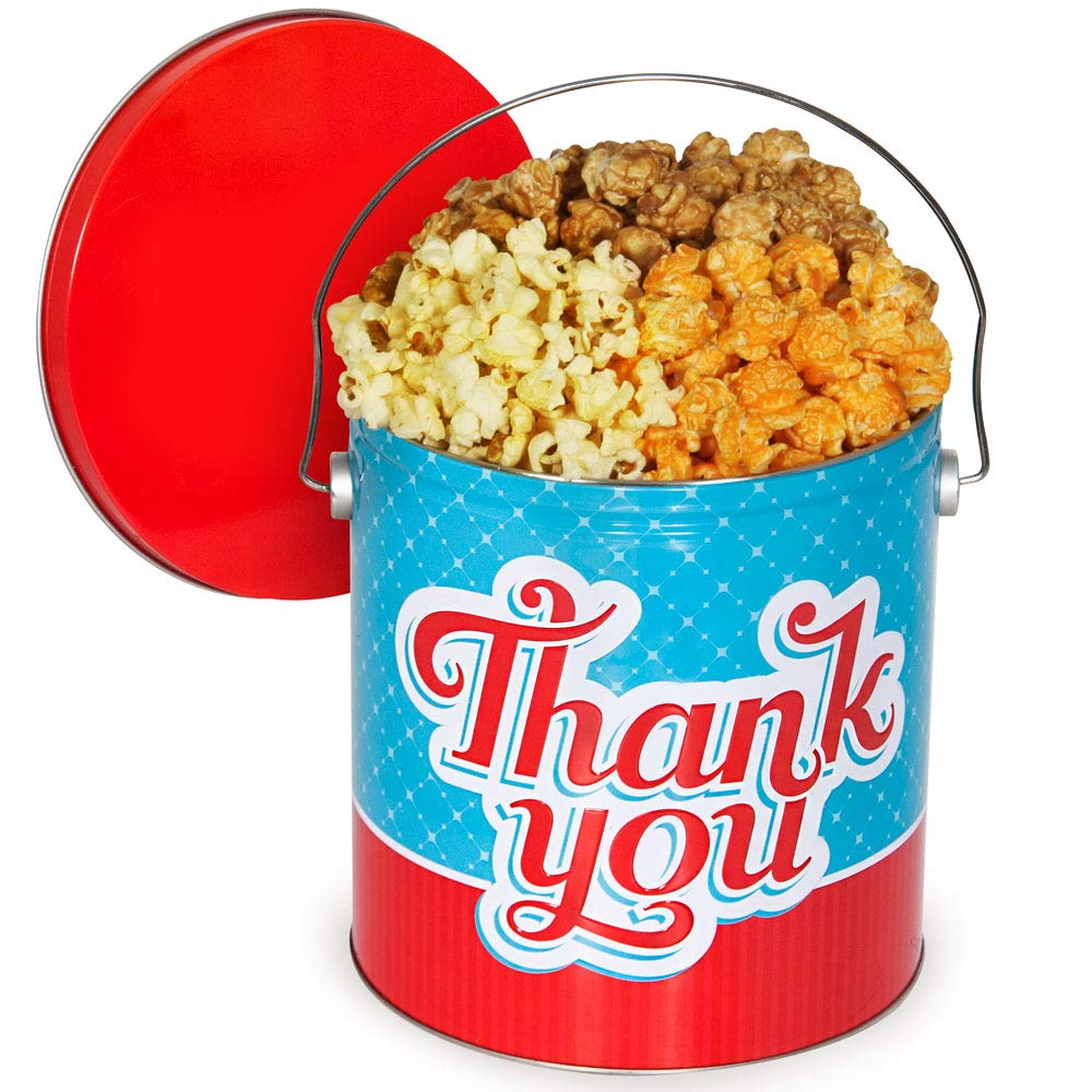 Thank You Popcorn Tin Traditional Charlotte Mall - Mix Ranking TOP6