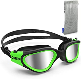 OMID Swim Goggles, Comfortable Polarized Anti-Fog Swimming Goggles for Adult