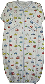 Baby-Boys Infant Rush Hour Print Convertible Gown