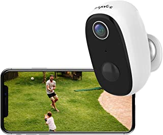 Wireless Rechargeable Battery Powered WiFi Camera, Home Security Camera, Night Vision, Indoor/Outdoor, 1080P Video with Mo...