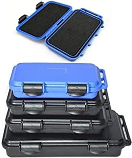 Waterproof Plastic Tool case box Shockproof Airtight Container Storage Box resistant fall safety case with pre-cut foam (C...