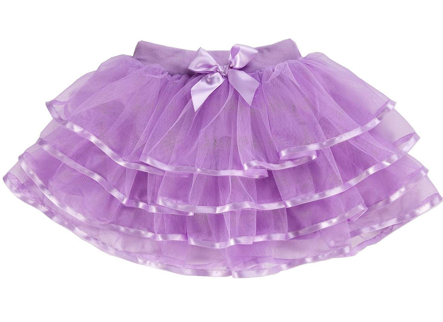 Tortoise & Rabbit Little Girls and Big Girls Tulle Tutu Skirt