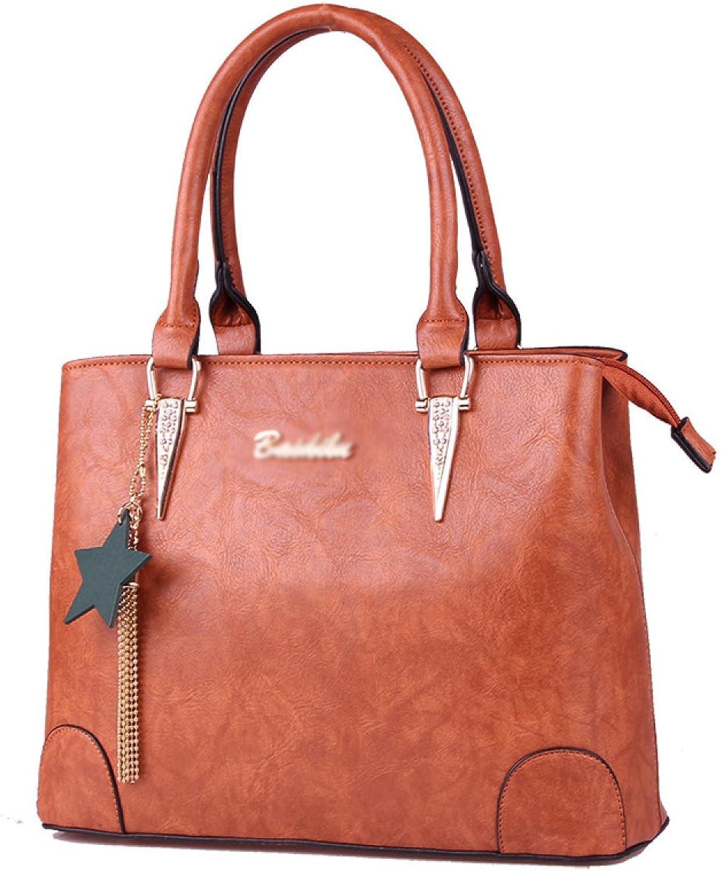Frauen Handtaschen Tote Umhängetaschen Für Frauen Große PU-Leder PU-Leder PU-Leder Top Handle Satchel Messenger Bag Handtasche (6 Farben) B076F5PXL6  Online-Shop 9a4e25