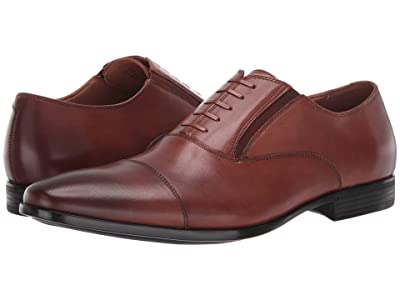 Kenneth Cole Reaction Eddy Lace-Up CT (Cognac) Men