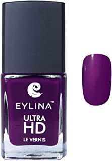 EYLINA Ultra Hd Nail Polish Deep, Purple, 9ml