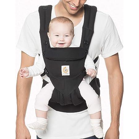 Black Dreambaby/® Ergonomic 3-in-1 Multi Position Manhattan Baby Carrier: Forward-Facing Rear-Facing /& Back Position Conforms to EN13209-2:2015