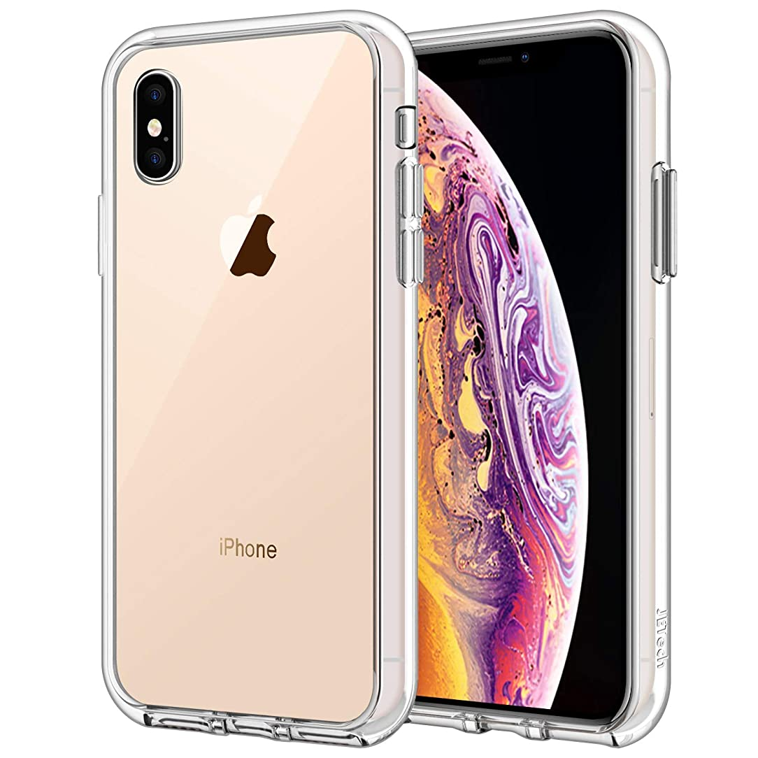 JETech Case for Apple iPhone Xs and iPhone X, Shock-Absorption Bumper Cover, HD Clear