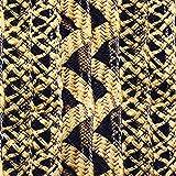 Kt KILOtela Tela por Metros de loneta Estampada Digital - Half panamá 100% algodón - Ancho 280 cm | Inspiración thonet - Marrón, Negro