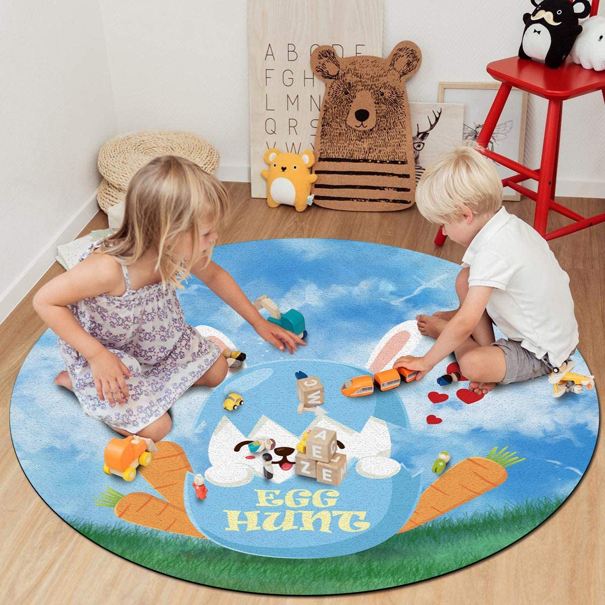 Soft Round Area Rugs for Princess New product type Cheap SALE Start Prince D 4 Play Castle ft Tent