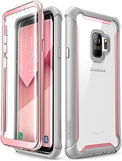 i-Blason Funda Galaxy S9 [Ares] 360 Grados Case Transparente Carcasa con Protector de Pantalla Integrado para Samsung Gala...