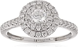 Pure Gold Jewellers Women Diamond QCTFB Ring - 3.20 gm