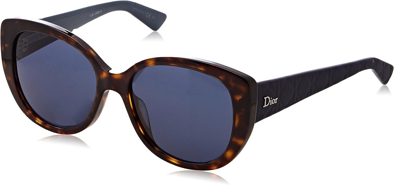 Dior DIORLADY1NS0086 Dark Havana 55mm womens