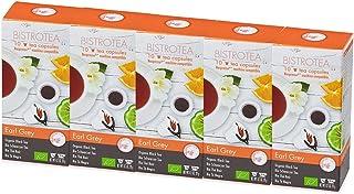 Bistrotea Tee-Kapseln - Bio Earl Grey - NespressoMaschinen kompatibel, 100 g