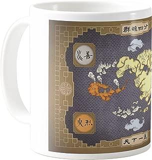 AquaCafeMug - CMSTL-A79412 - 11oz Ceramic Coffee Mug Tea Cup