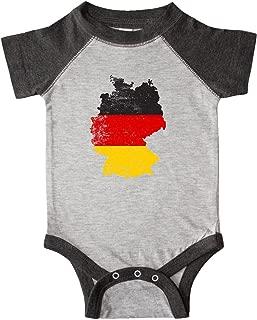 inktastic German Map Flag Infant Creeper
