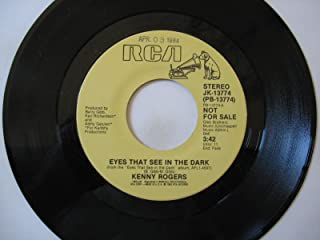 eyes that see in the dark 45 rpm single