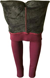 NY GOLDEN FASHION Women Winter Warm Thick Fleece Fur Lined Thermal High Waisted Leggings Pants