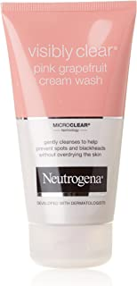 Neutrogena Visibly Clear Pink Grapefruit Cream Wash (microclear technology) 150ml