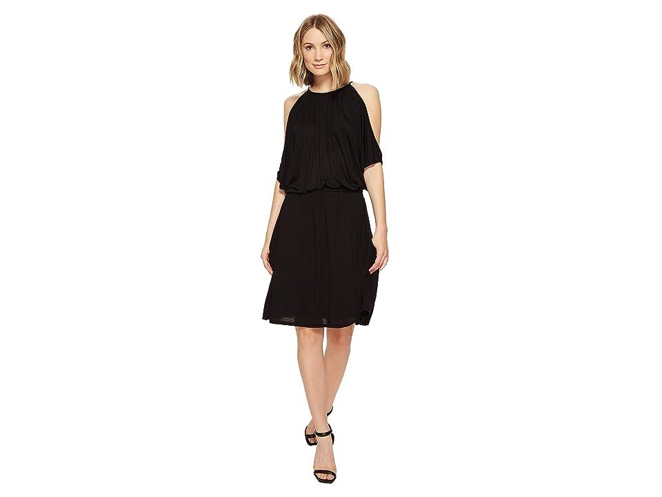 LAmade Brenda Off Shoulder Dress (Black) Women