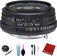 Pentax smc PENTAX-FA 43mm f/1.9 Limited Lens (Black) with Pro Cleaning Kit