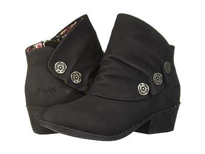 Blowfish Kids Singe-K (Little Kid/Big Kid) (Black Utah PU) Girls Shoes