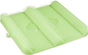 ごしごし洗える!足洗いマット お風呂でスッキリ 足裏洗ったことありますか? HB-2815・グリーン
