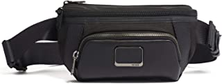 Alpha Bravo Campbell Utility Pouch Waist Pack - Crossbody Bags for Men and Women - Black