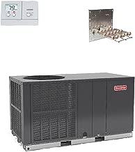 Goodman 3.5 Ton 14 SEER Heat Pump Package Unit GPH1442H41 Free Adapters