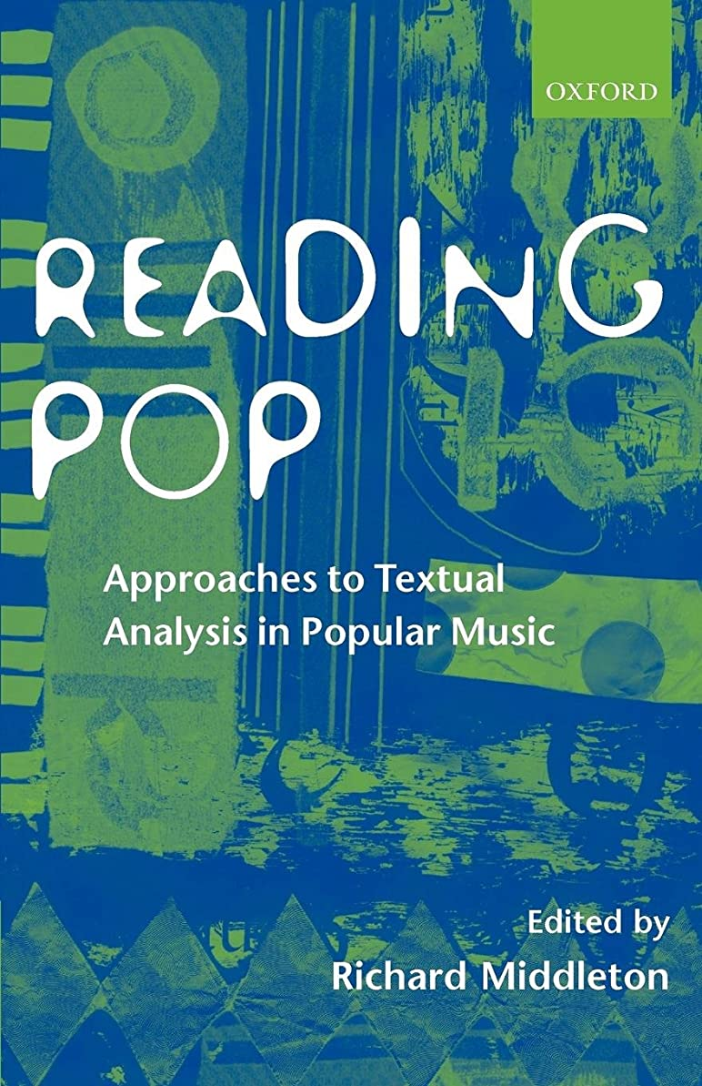 エンティティバスルーム問題Reading Pop: Approaches to Textual Analysis in Popular Music