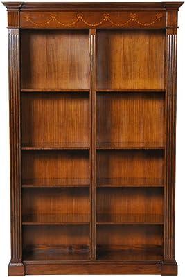NOF060 Large Mahogany Bookcase By NIAGARA FURNITURE